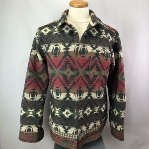 Only & Sons regular fit southwestern button jacket